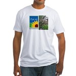 Eye on Gardening Tropical Plants Fitted T-Shirt