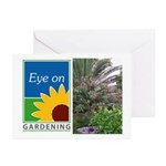 Eye on Gardening Tropical Plants Greeting Cards (P