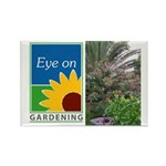 Eye on Gardening Tropical Plants Rectangle Magnet