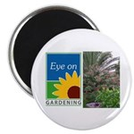 Eye on Gardening Tropical Plants Magnet
