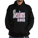 Seniors 2012 Baby Blue and Pink Hoodie