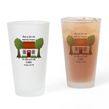 As For Me And My House Drinking Glass