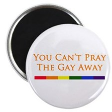 You Can't Pray The Gay Away Magnet
