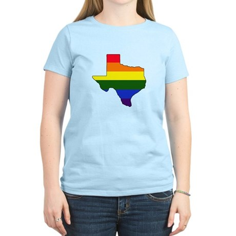 Texas Gay Pride Women's Light T-Shirt