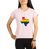 Texas Gay Pride Performance Dry T-Shirt