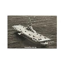 USS LEYTE Rectangle Magnet