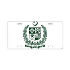 Pakistan Coat Of Arms Aluminum License Plate