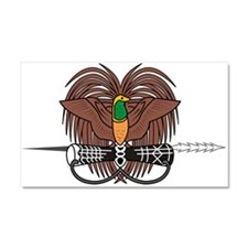 Papua new Guinea Coat Of Arms Car Magnet 20 x 12