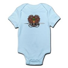 Papua new Guinea Coat Of Arms Infant Bodysuit