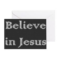 Believe in Jesus Greeting Card