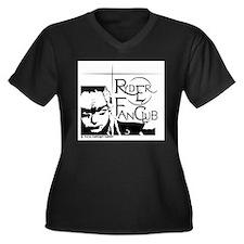 Ryder Fan Club Women's Plus Size V-Neck Dark T-Shi