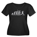 Evolution Fussball weiss.png Women's Plus Size Sco