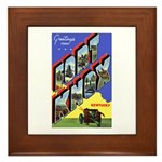 Fort Knox Kentucky Framed Tile