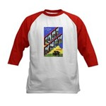 Fort Knox Kentucky (Front) Kids Baseball Jersey