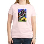 Fort Knox Kentucky (Front) Women's Pink T-Shirt