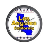 Los Angeles (LA) Wall Clock