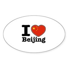 I Love Beijing Decal