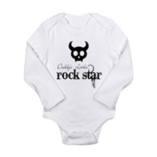 Funny Rock n roll baby Long Sleeve Infant Bodysuit