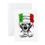 Vittorie dell'Italia Greeting Cards (Pk of 10)