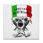 Vittorie dell'Italia Tile Coaster
