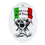 Vittorie dell'Italia Oval Ornament