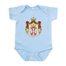 Serbia Coat Of Arms Onesie