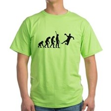 Evolution Handballer B 2c.png T-Shirt