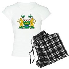 Sierra Leone Coat Of Arms pajamas