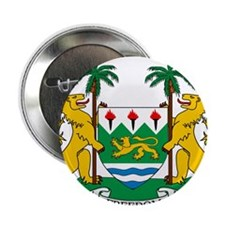 """Sierra Leone Coat Of Arms 2.25"""" Button"""