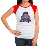 Trucker Kaitlyn Women's Cap Sleeve T-Shirt