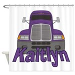 Trucker Kaitlyn Shower Curtain