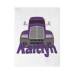 Trucker Kaitlyn Twin Duvet