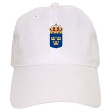 Sweden Lesser Coat Of Arms Baseball Cap