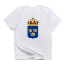 Sweden Lesser Coat Of Arms Infant T-Shirt