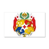Tonga Coat Of Arms Car Magnet 20 x 12