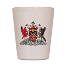 Trinidad and Tobago Coat Of Arms Shot Glass