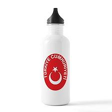 Turkey Coat Of Arms Water Bottle