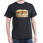 Cambodia Grand Hotel Black T-Shirt