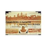 Cambodia Grand Hotel Rectangle Magnet (100 pack)