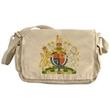 United Kingdom Coat Of Arms Messenger Bag