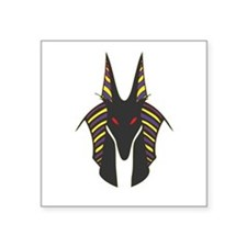 "Anubis Square Sticker 3"" x 3"""