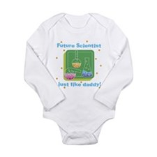 Cute Baby geek Long Sleeve Infant Bodysuit