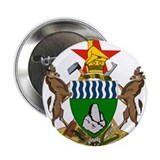 Zimbabwe Coat Of Arms 2.25&quot; Button