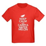 Keep Calm Carry a Watermelon Kids T-Shirt