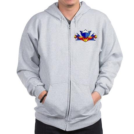 WW starburst Zip Hoodie