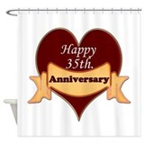 Thirty fifth anniversary Shower Curtain
