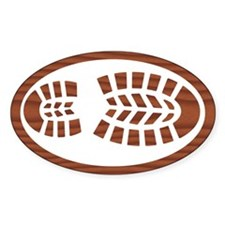 Hiking Boot Rosewood Decal
