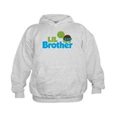 Boy Turtle Little Brother Hoodie