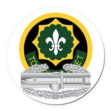 2nd ACR CAB Round Car Magnet