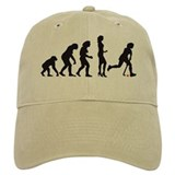 evolution hockey woman Baseball Cap